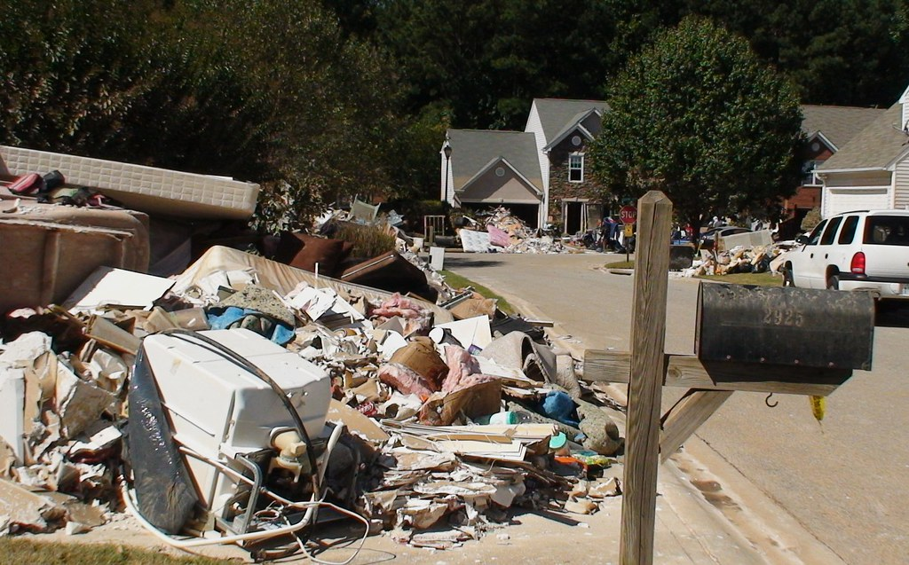 Atlanta-area flood damage