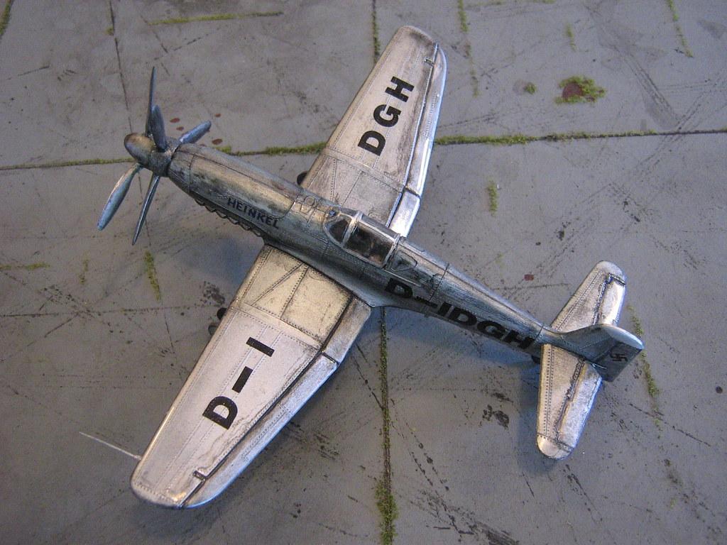 new Heinkel He-100 contraprop pics!