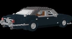 Jaguar XJ6 Series 1 (lego911) Tags: auto classic car lego jaguar 1960s lugnuts moc xj6 seriesi foitsop
