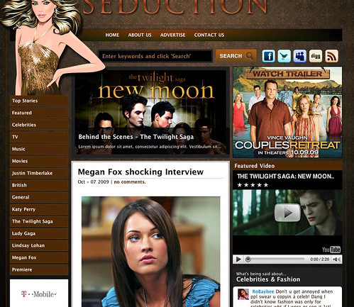 Seduction   GorillaThemes Premium Wordpress Theme