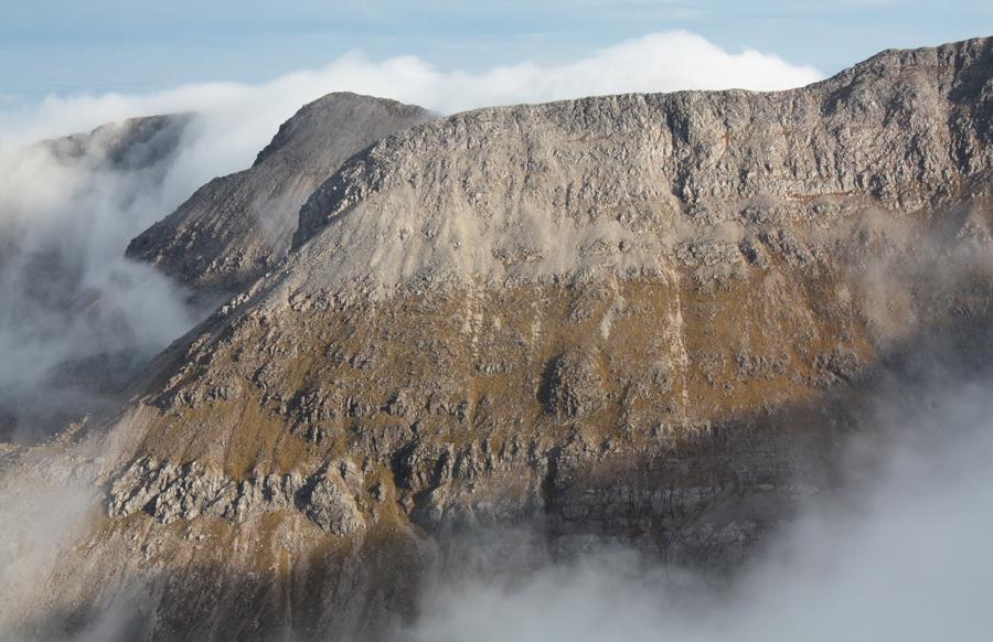 Beinn Eighe from its highest peak, Ruadh Stac Mor