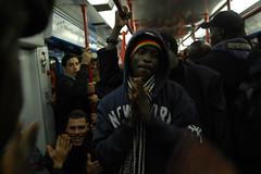 underground-people (G_Malaussene) Tags: roma underground metropolitana noracism manifestazione sanspapier migranti antirazzismo