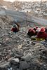 Femmes travaillant (La Rinconada, Puno, Pérou, août 2009)