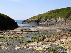 Port Quin 2 (rainingmonkey) Tags: bay coast rocks cornwall hills inlet scencic portquin