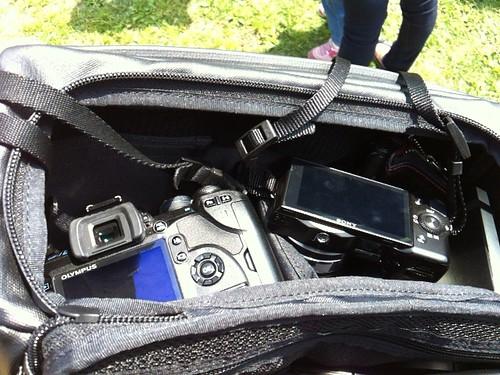 カメラ二台