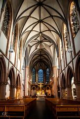 Marienkirche Dsseldorf (SK snapshots) Tags: church st germany nikon maria jesus kirche marienkirche dsseldorf d90 sakralbauten mari empfngnis stmariempfngnis sksnapshots