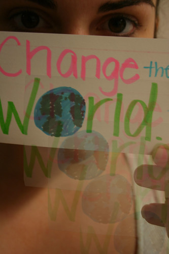 Cynicism and changing the world
