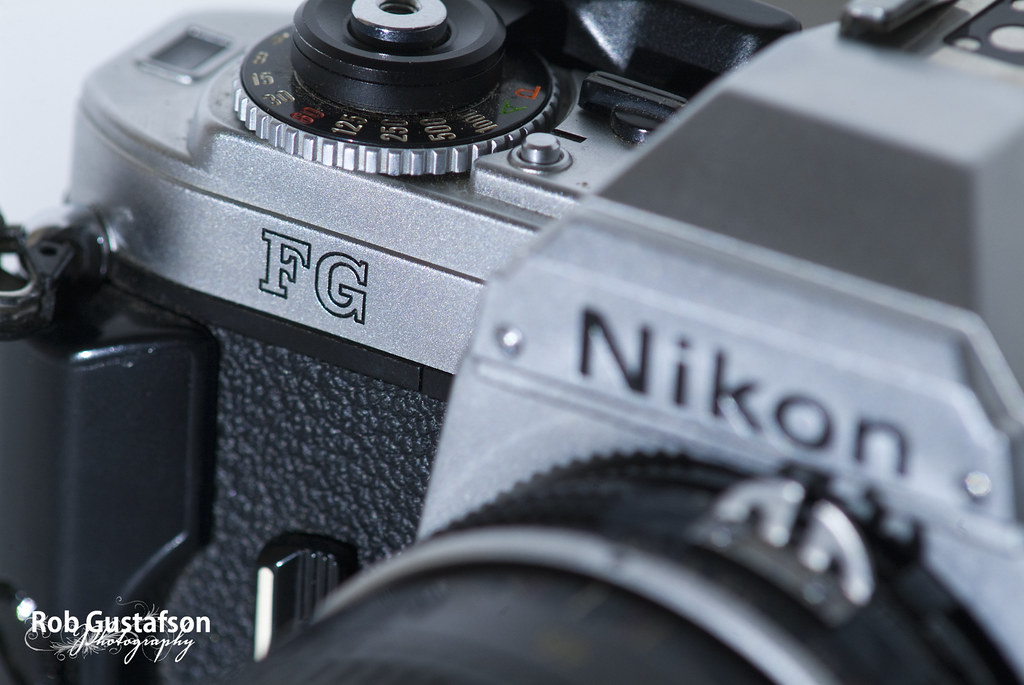 Nikon FG - New Toy