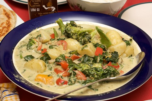 thai-ish green curry by msh