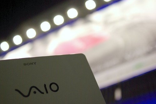 VAIO P with ad board by HAMACHI!.