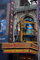Young Frankenstein at the Hilton Theatre by afagen, on Flickr