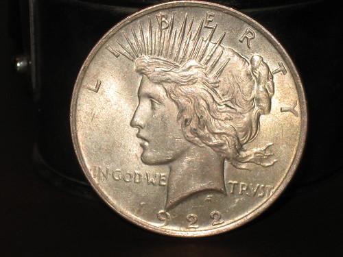1922 Silver Dollar