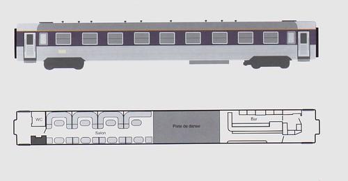 Train Chartering - French railways SNCF Disco plan