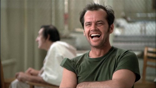 R.P. McMurphy in ONE FLEW OVER THE CUCKOO'S NEST [1975] Image