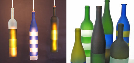 Lampu Gantung Botol Anggur