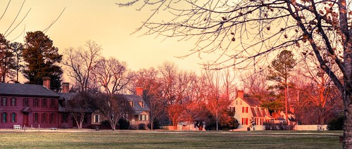 Courthouse Green, Colonial Williamsburg - HDR