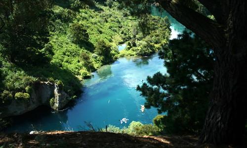 Nature is blue, green, dark, bright