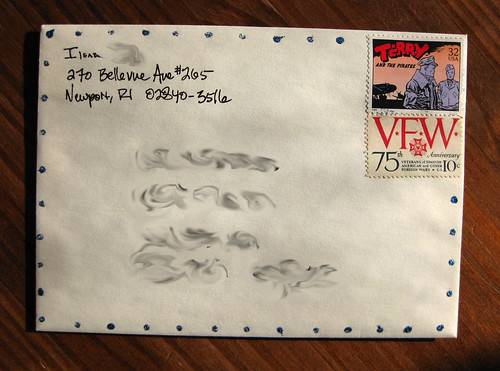 Terry and the Pirates + VFW stamps