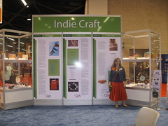 Me in the Indie Craft Booth at CHA