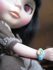 Holly in her new Watch