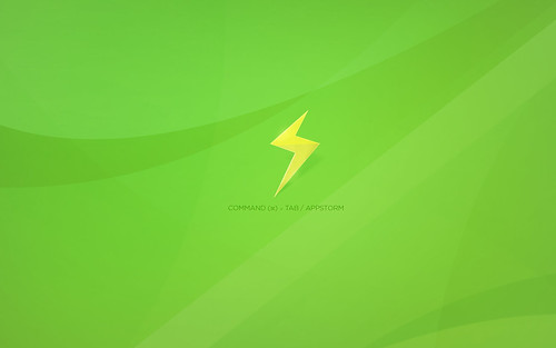 go green wallpaper. AppStorm Bolt Green Wallpaper