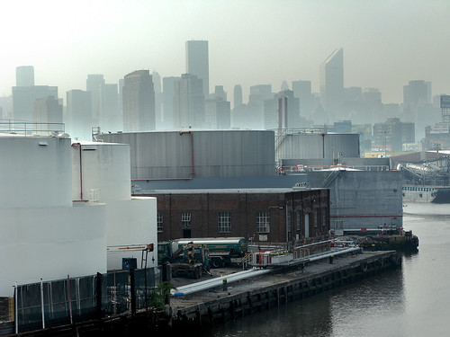 Misty Day at Newtown Creek