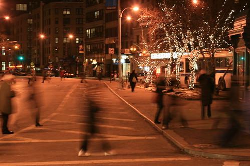 Walking Across the Street