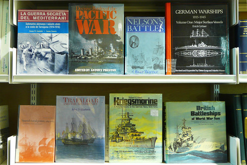 Biblioteca del Museu Marítim. Marina de guerra