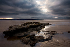 Rocks (BarneyF) Tags: winter sky seascape reflection rock wirral westkirby merseyside hilbreisland deeestuary