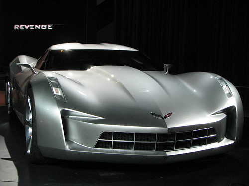 Chicago Auto Show 2009 – Chevy Stingray Concept! (Pictures)