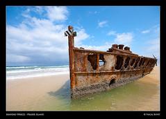 Australia 9 - Maheno Wreck (pascalbovet.com) Tags: australia fraserisland goldstaraward artandpleasure