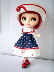 Outfit marinheira disponivel (apenas vestido e chapéu)