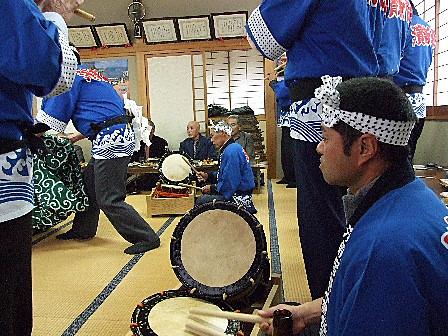浜新保獅子舞保存会~仏照寺