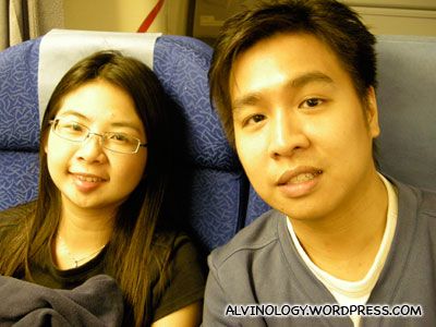 Mark and Meiyen - pardon Marks stupid expression