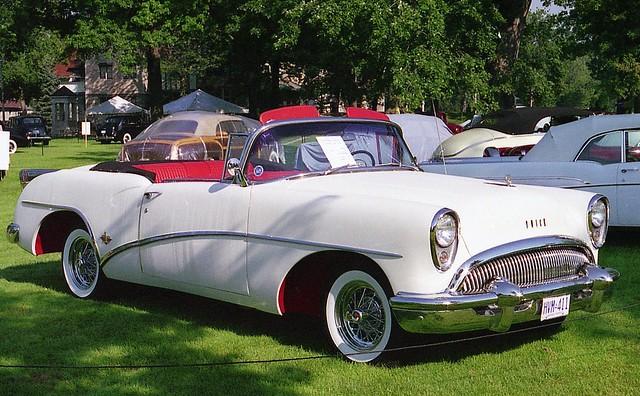buick convertible 1954 skylark 1954buickskylarkconvertible willisteadconcours1995 ©richardspiegelmancarphoto