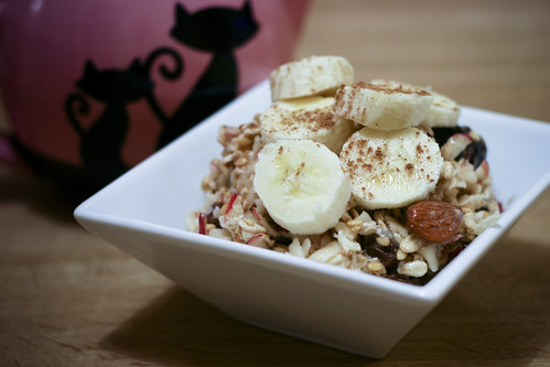 Bircher Muesli with Banana