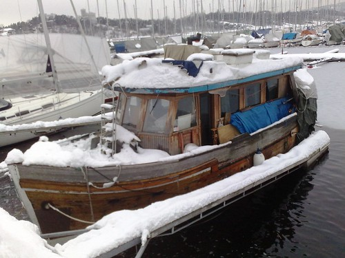 Norway boats in hibernation #2
