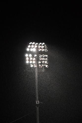 Rain - NWA Naturals vs San Antonio Missions - Arvest Ballpark - Springdale, AR - 4/18/09