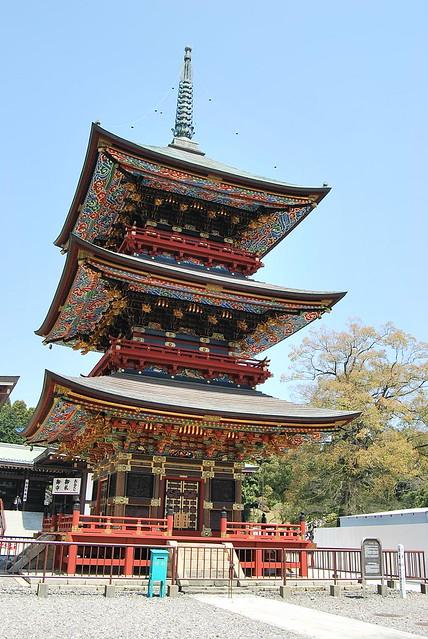 Pagoda del Narita-san Shinshō-ji