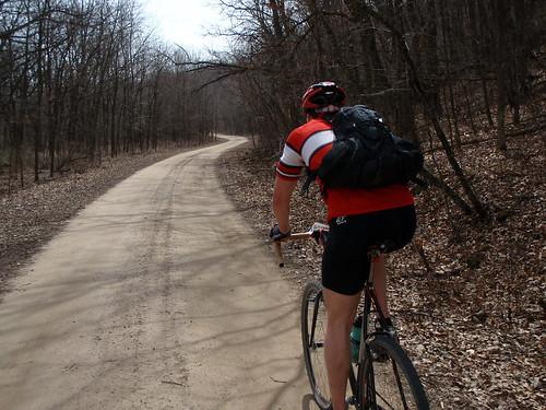 B road climb.