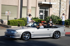 FORD MUSTANG 5.0 GT FOXBODY CONVERTIBLE with chrome SVT COBRA STYLE WHEELS (Navymailman) Tags: show california park ford car berry body farm fox forever mustang fabulous 2009 fords knotts fff buena stang fabulousfordsforever foxbody foxbodymustang