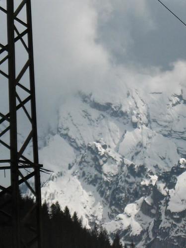 ferro, legno, roccia, neve, Tudaio,