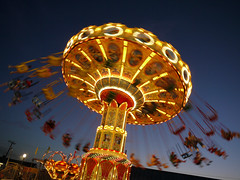 Chair Swing Ride (Ray G Photography) Tags: carnival motion lumix newjersey ride nj july panasonic boardwalk g1 oceancounty lsp pointpleasantbeach 1445mmf3556 dmcg1 gvario nprsummer lspjulychair lspjulychairswingride