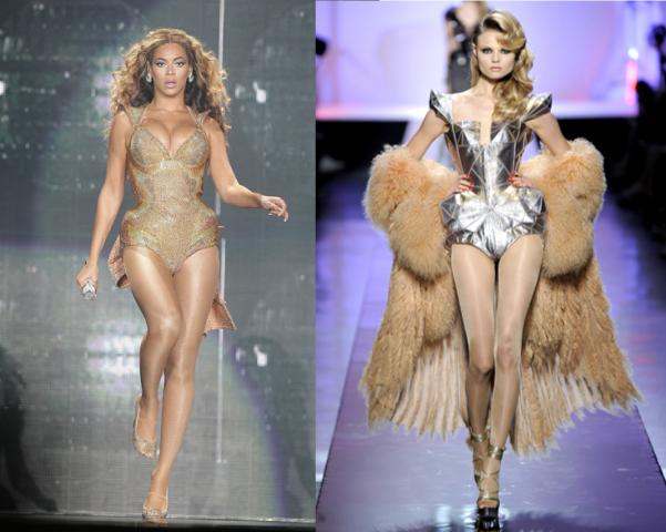 Beyonce's Mugler vs. Gaultier's Couture