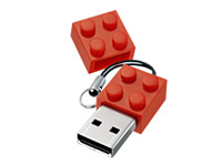 Lego Red 1GB Flash Drive ($30.00)