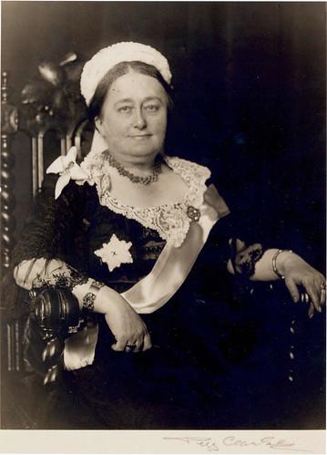 Dr. Constance Ellis (as Queen Victoria)