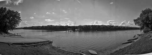 White's Ferry Pano