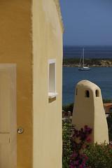 relax (OZROSIS) Tags: sea summer panorama house seascape flower green home landscape mare estate finestra vista fiori fiore luce portico pergola caldo sigma1770 nikond40 ashowoff