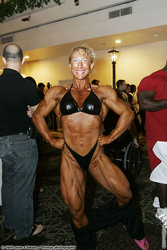 Holly Geersen at the 2009 NPC USAs