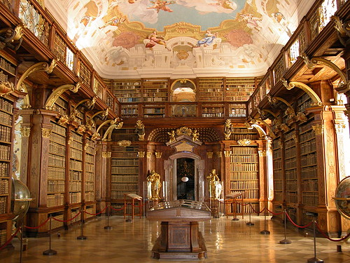Library of Melk Abbey